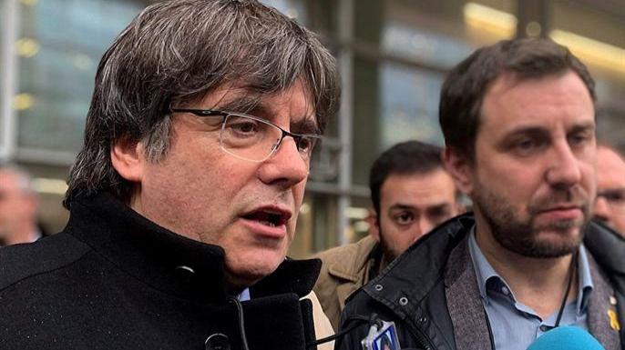 La Justicia belga suspende la euroorden contra Puigdemont y Comín