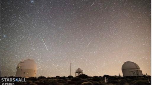 Llegan las Cuadrántidas: la primera lluvia de estrellas de 2020