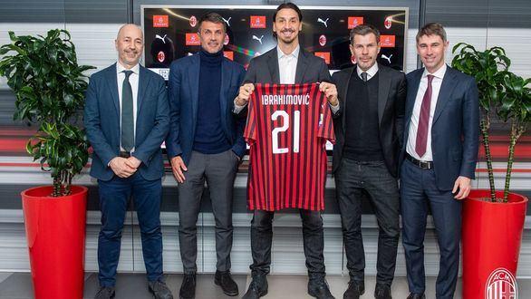 Diez años después, Ibrahimovic vuelve a fichar por el Milan