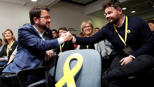 ERC confirma el acuerdo independentista con el PSOE y apoya la investidura de Sánchez