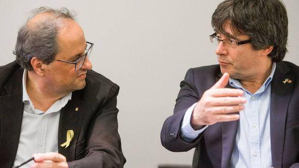 Torra critica del acuerdo que no haya un relator y Puigdemont pide participar en la negociación