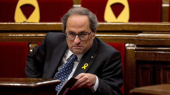 Torra, destituido como presidente de la Generalidad y Junqueras, inhabilitado como eurodiputado