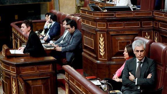 Tensión en el Congreso tras atacar Bildu al Rey y reivindicar a Otegi