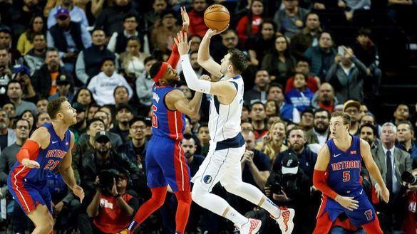 NBA. Doncic firma otra barbaridad y su equipo se queja porque 'le pegan'