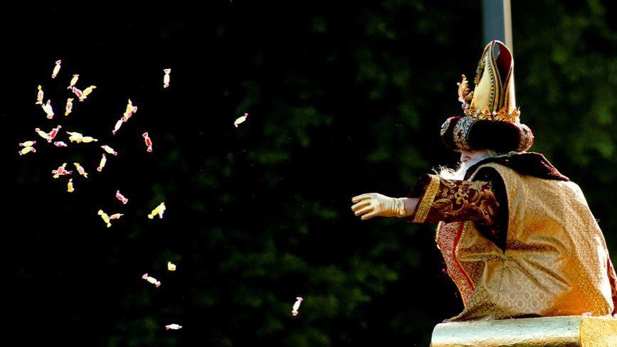 Las mejores imágenes de la llegada de los Reyes Magos a España