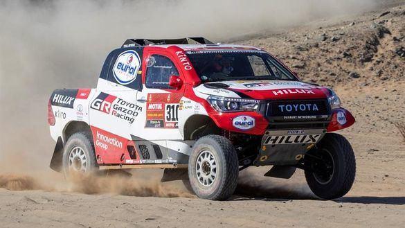 Dakar 2020. Fernando Alonso sufre la crudeza del rally ya en el segundo día