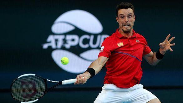Copa ATP. Bautista y Nadal siguen imparables para acercar a España a cuartos