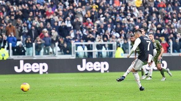 Serie A. Cristiano Ronaldo firma su primer tripete en la liga italiana