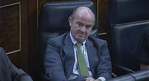 Así criticó Sánchez la candidatura de De Guindos al BCE