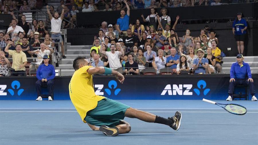 Copa ATP. Tsitsipas casi da un raquetazo a su padre y Rusia y Gran Bretaña dominan