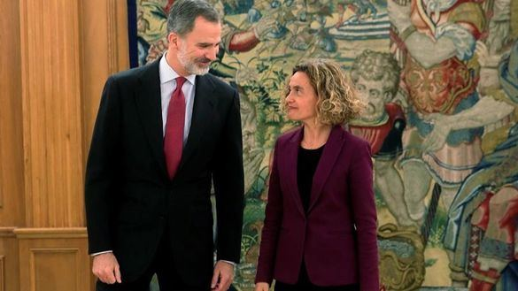 El Rey firma el nombramiento de Sánchez tras recibir a Batet en Zarzuela