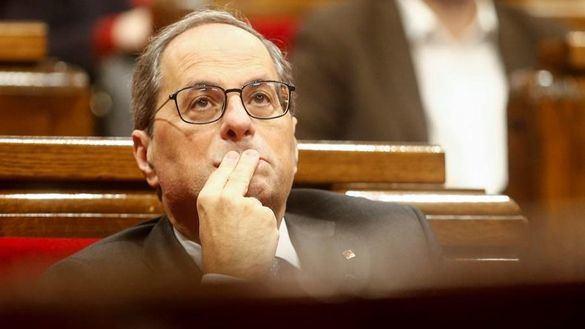 La Junta Electoral deja en manos del Parlament la destitución de Torra como president