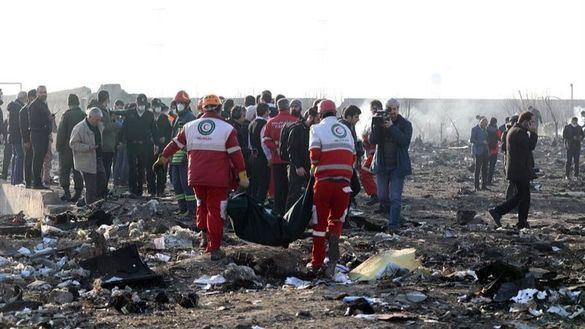 Un Boeing 737 ucraniano se estrella en Irán