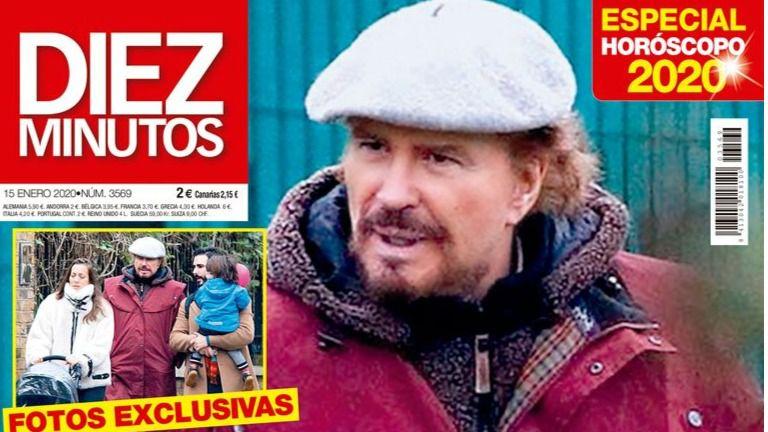 Bigote Arrocet se refugia en Londres con su familia tras su adiós a María Teresa Campos