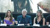 José Luis Moreno con Jane Seymour y Denise Richards