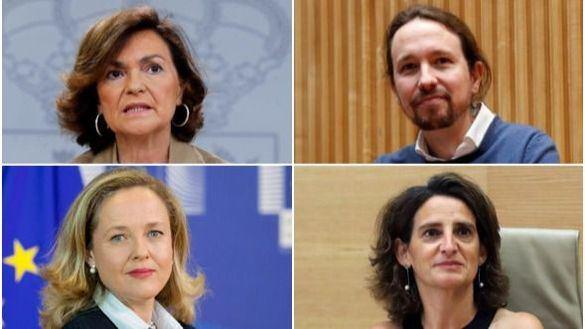 Moncloa anuncia que el Gobierno tendrá cuatro vicepresidencias
