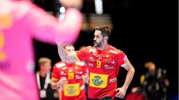 Europeo de balonmano. Una rocosa España se impone en inferioridad a Letonia |33-22