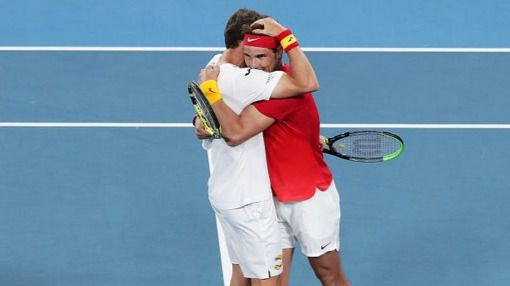 Copa ATP. Nadal y Carreño ponen a España en semifinales