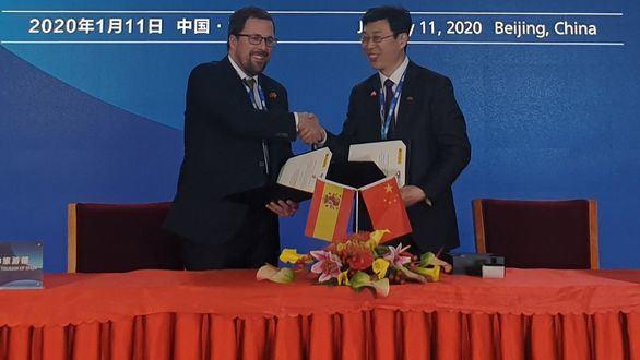 España y China se alían para crear un hub que desarrolle vehículos eléctricos