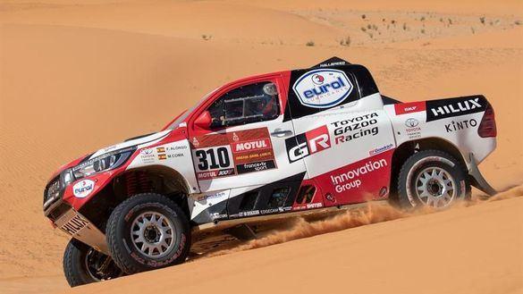 Dakar 2020. Así se ven Carlos Sainz y Fernando Alonso a estas alturas