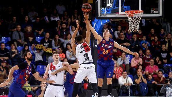 ACB. El Barcelona cae en el Palau ante el Bilbao Basket, que se mete en Copa