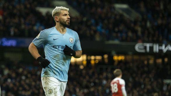 Ligas Europeas. 'Kun' Agüero hace historia en la Premier League
