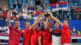 Copa ATP. Djokovic gana a España y Serbia se proclama campeona