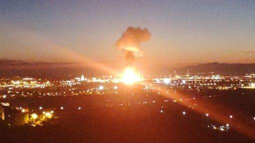 Un muerto y ocho heridos por una potente explosión en una fábrica de Tarragona