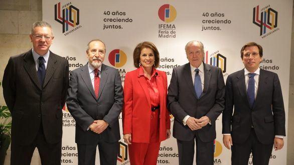 """""""La historia de IFEMA es la historia del éxito que hace que Madrid siga creciendo"""""""