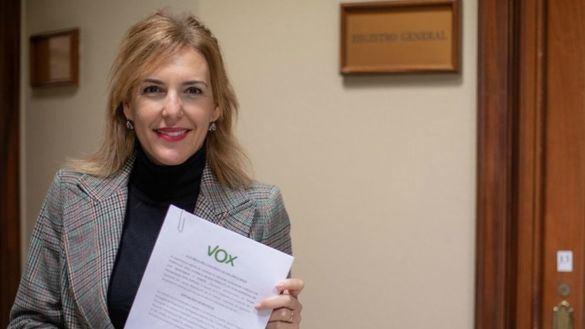 La diputada por Málaga de Vox, Patricia Rueda.