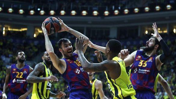 Euroliga. El Barcelona renace en Estambul frente al Fenerbahce   74-80