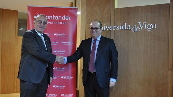 El banco Santander destinará 1,4 millones de euros a la Universidade de Vigo