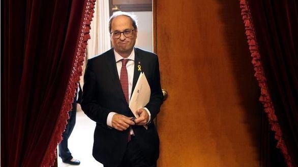 La Fiscalía, en plena acción: cuestiona a la JEC por quitar el escaño a Torra