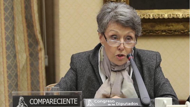 El PP recuerda a Rosa María Mateo que prometió dimitir cuando hubiera gobierno