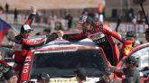 Dakar 2020. Carlos Sainz y Fernando Alonso comparten sus sensaciones finales