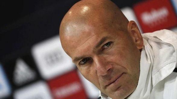 Zidane pone la diana sobre Gareth Bale y James Rodríguez