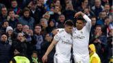 Casemiro se viste de '9' para dejar la victoria en el Bernabéu   2-1