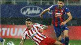 El Atlético naufraga en Eibar |2-0