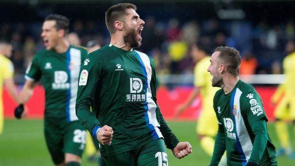 El Espanyol coge aire en Villarreal   1-2