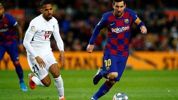Sólo Messi logra desarbolar a un Granada con diez en el estreno de Setién | 1-0