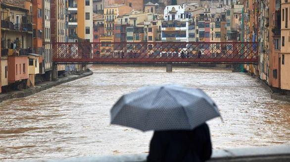 Borrasca 'Gloria': la lluvia mantiene en alerta naranja a Cataluña y Andalucía