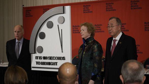El reloj del juicio final, más cerca que nunca de la medianoche