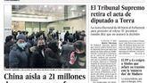 Las portadas de los periódicos del viernes, 24 de enero