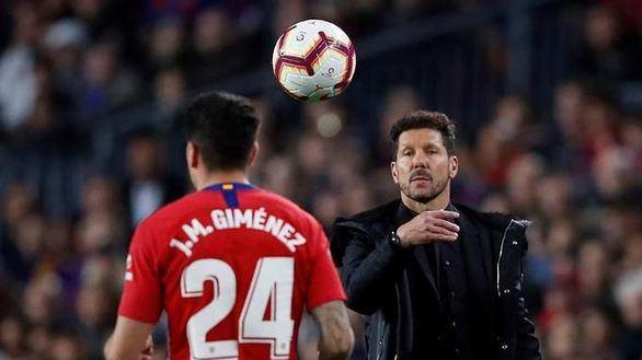 La directiva del Atlético ve necesario salir en defensa de Diego Pablo Simeone