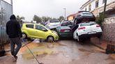 La borrasca Gloria deja un 'tsunami' en Campanillas, Málaga