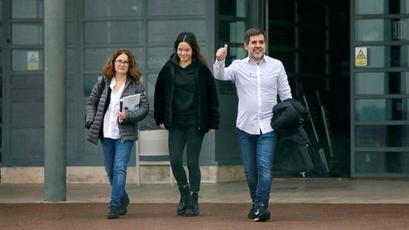 Jordi Sánchez sale de prisión en su primer permiso penitenciario