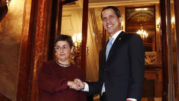 La ministra de Exteriores traslada ahora a Guaidó el