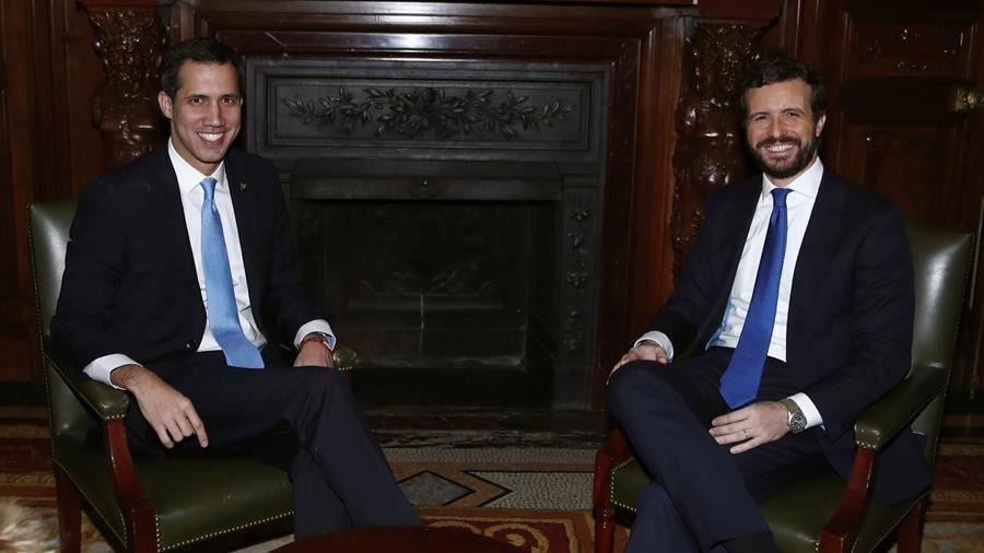 Guaidó, en Madrid: