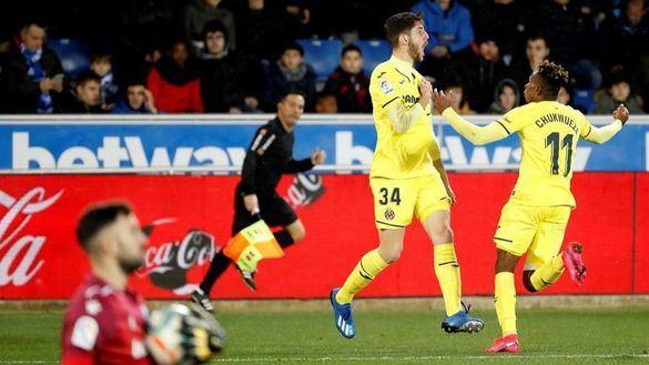 Fer Niño debuta con el Villarreal desterrando al Alavés | 1-2
