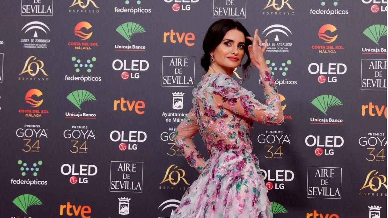 La alfombra roja de los Premios Goya se tiñe de blanco y negro
